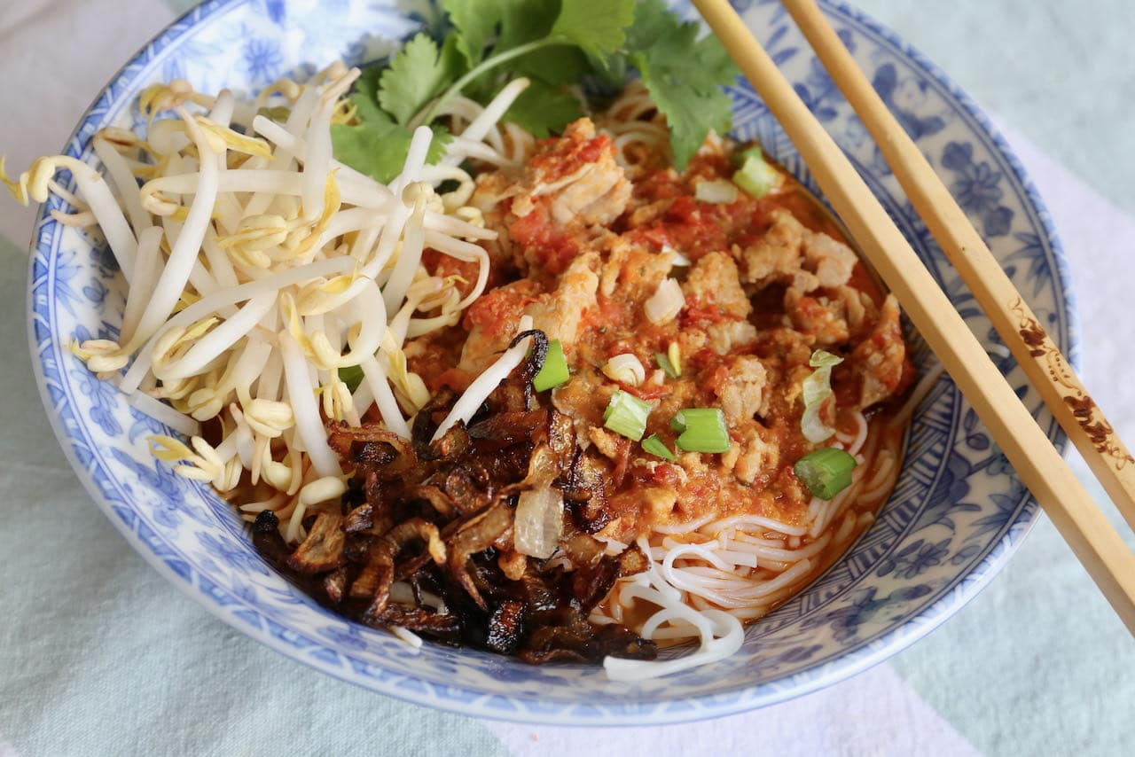 Homemade Pork Rib Soup is an easy meal idea for spicy Thai food lovers.