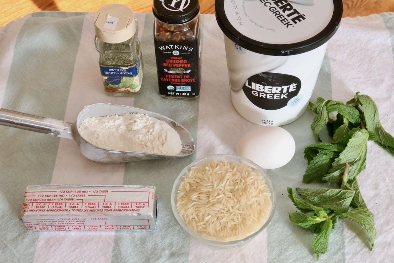 Vegetarian Yogurt Corbasi ingredients.