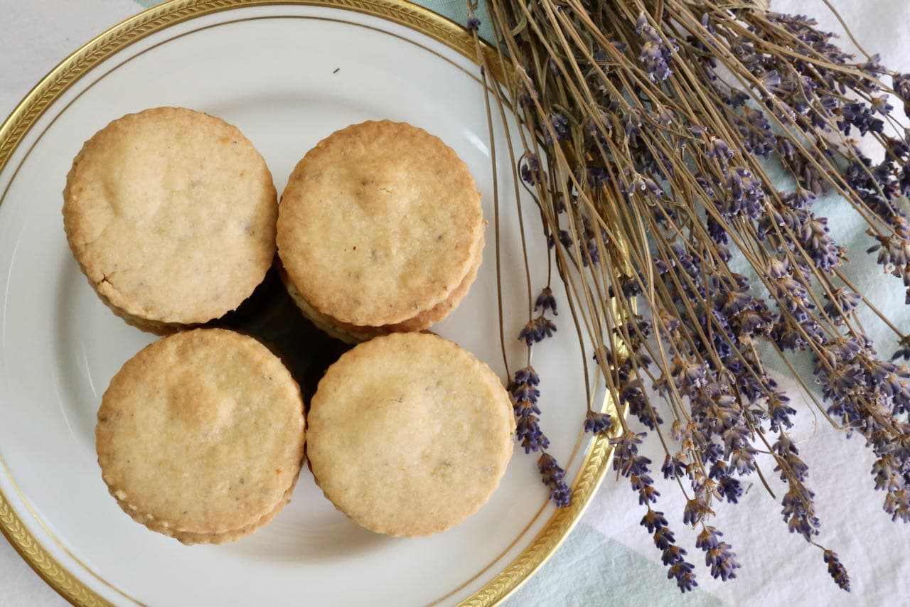 Now you're an expert on how to make the best Lemon Lavender Cookies!