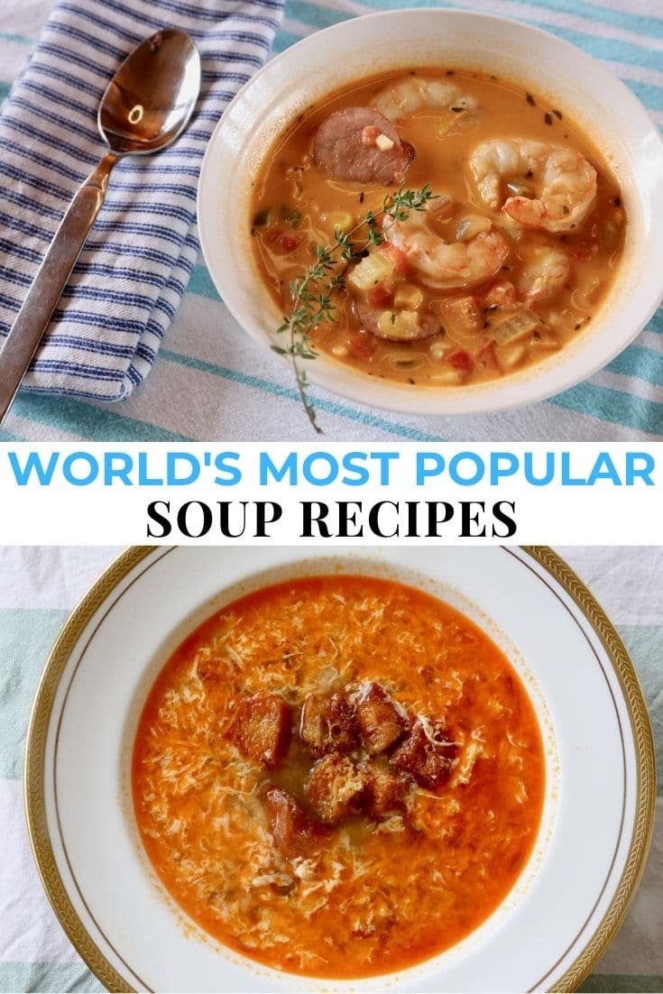 Save our Most Popular Soups in the World guide to Pinterest!