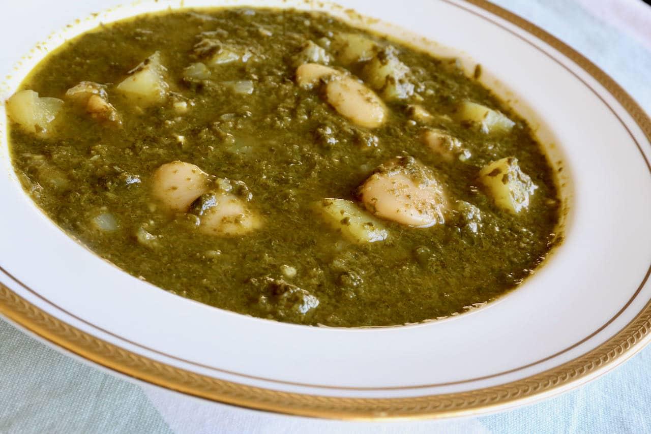 Pkaila is a vegan butter bean stew popular in Tunisia's Jewish community.