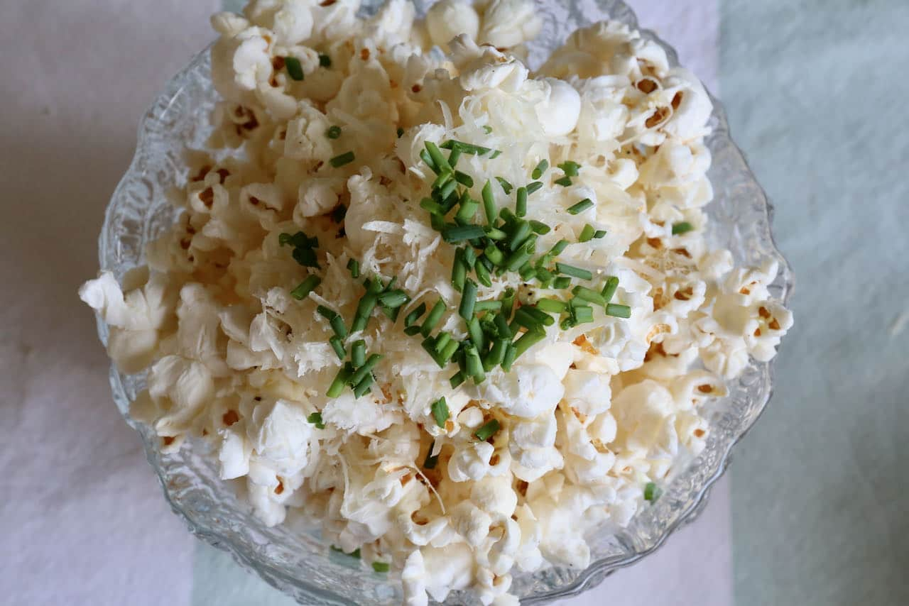 Now you're an expert on how to make easy homemade Air Fryer Popcorn!