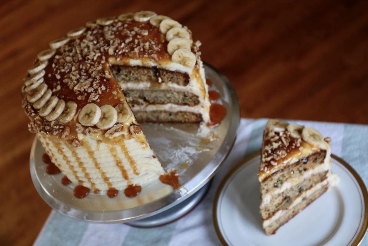 Moist Baileys Banoffee Cake Recipe