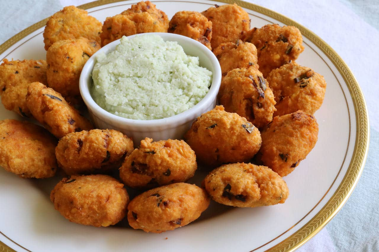Parippu Vada is our favourite South Indian snack.
