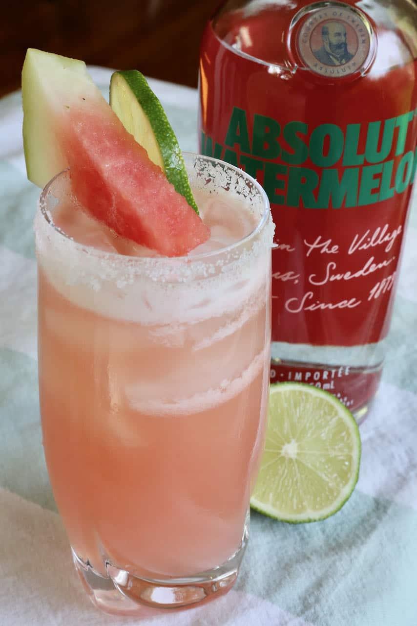 Absolut Watermelon Vodkarita