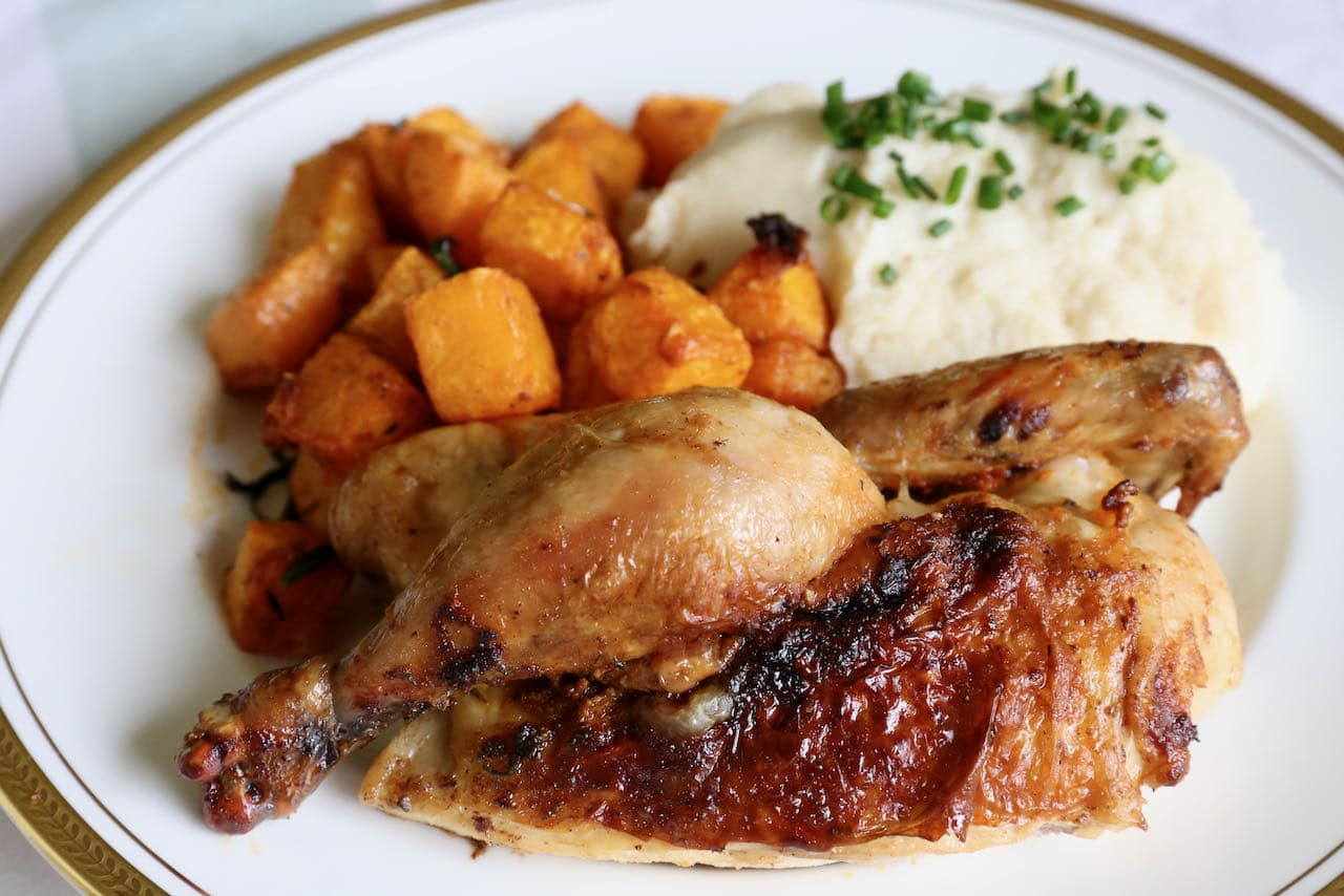Now you're an expert on how to make homemade Air Fried Cornish Hen!