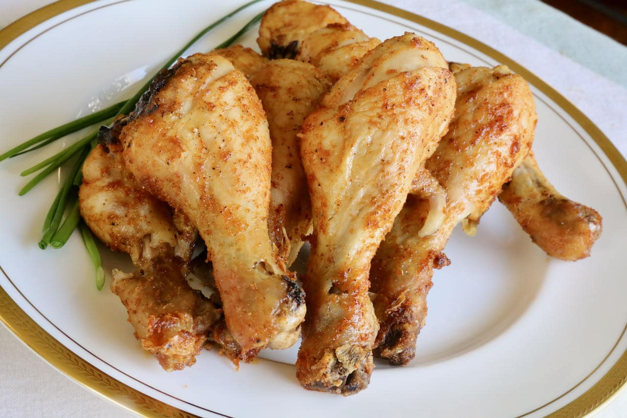 Now you're an expert on how to make Air Fryer Chicken Drumsticks!