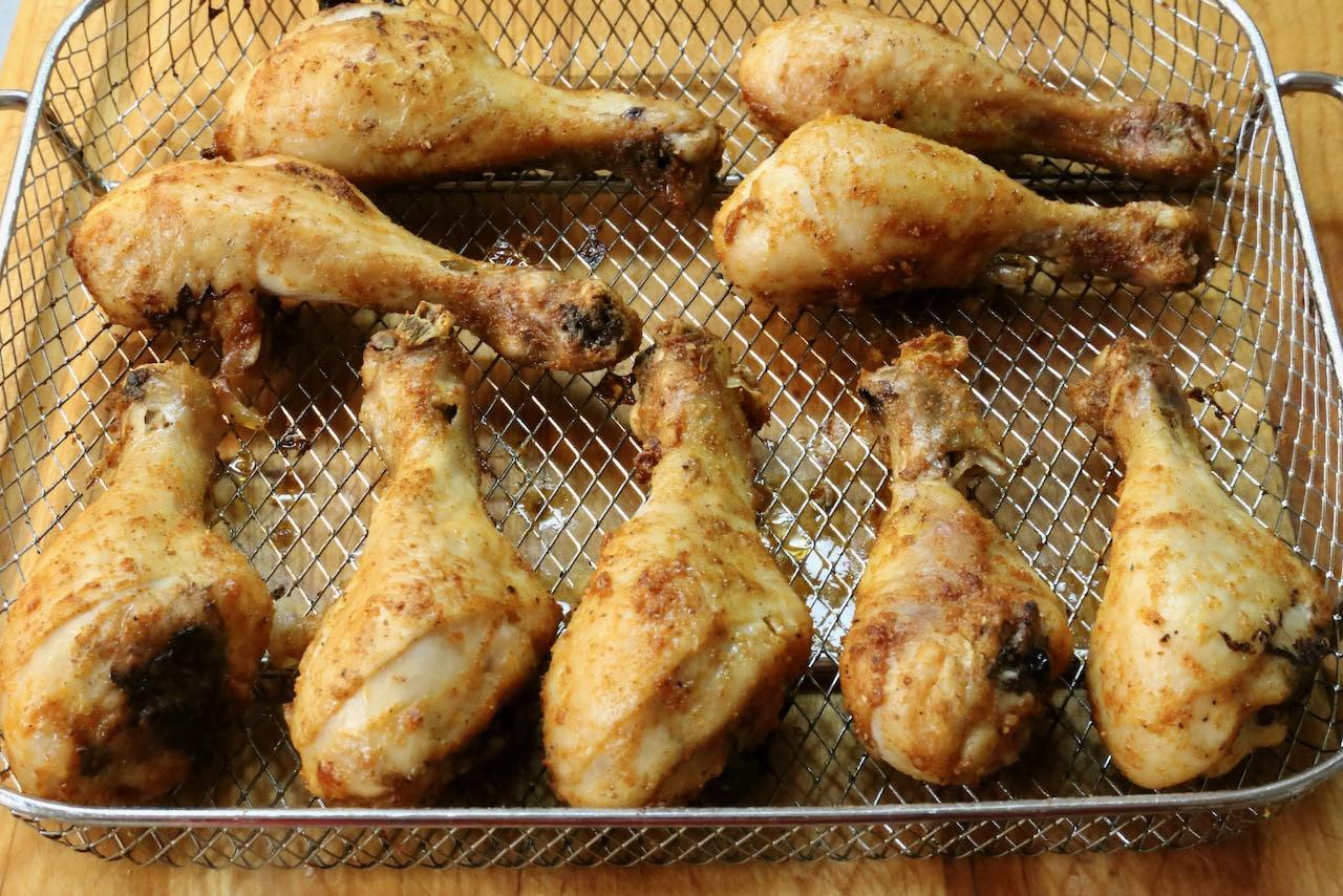 Crispy Air Fryer Chicken Drumsticks Recipe