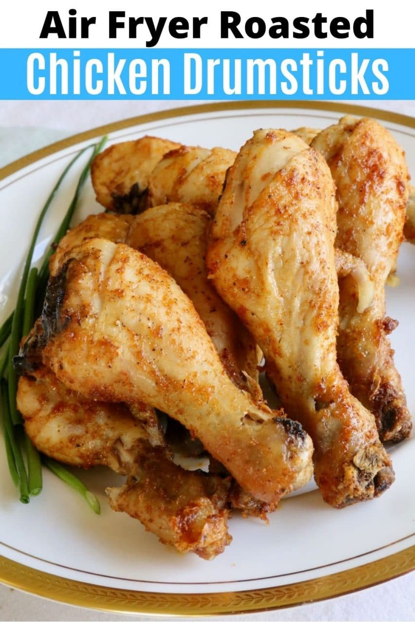 Save our Air Fryer Chicken Drumsticks recipe to Pinterest!