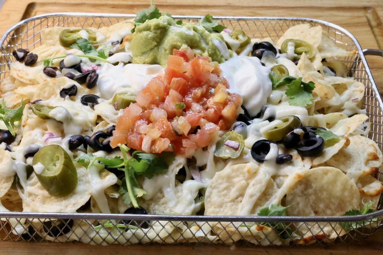 Now you're an expert on how to make homemade Air Fryer Nachos!