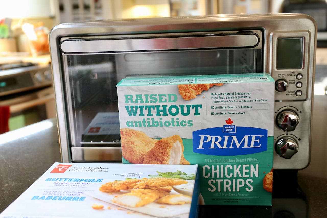 You can use an air fryer to cook crispy chicken fingers, chicken tenders or chickens trips.