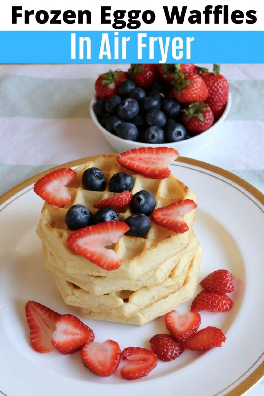 Save our Frozen Eggo Waffles In Air Fryer recipe to Pinterest!