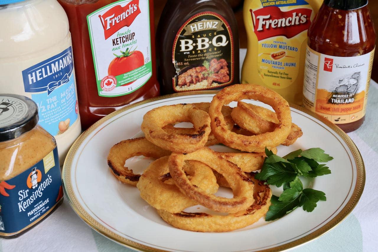 Easy Frozen Onion Rings In Air Fryer Recipe