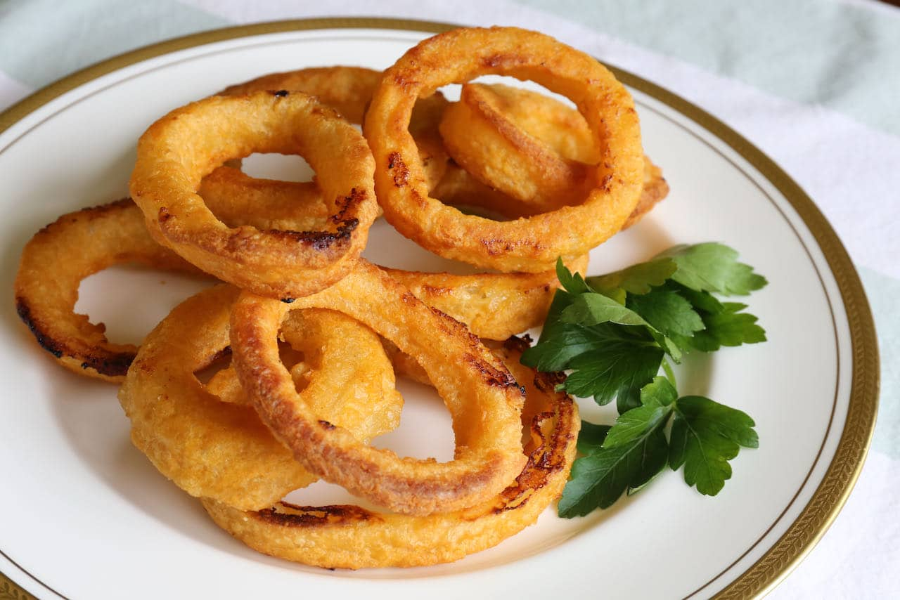 Now you're an expert on how to make Frozen Onion Rings in an Air Fryer!