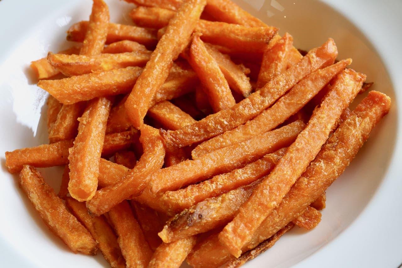 Easy Frozen Sweet Potato Fries In Air Fryer Recipe