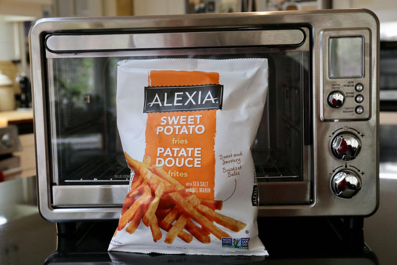 We cooked Alexia Frozen Sweet Potato Fries in our Air Fryer.