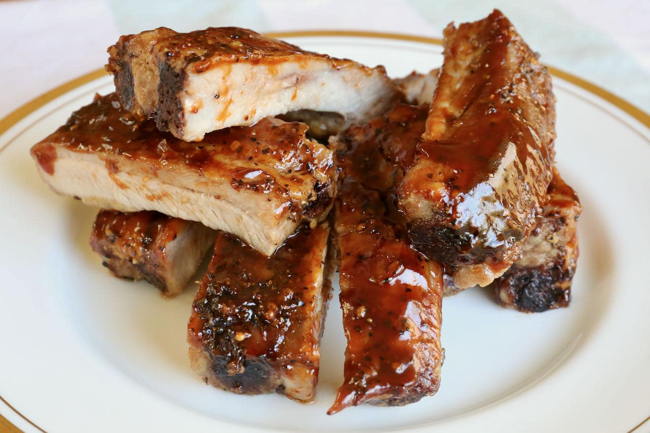 Now you're an expert on how to make pork ribs in an air fryer!