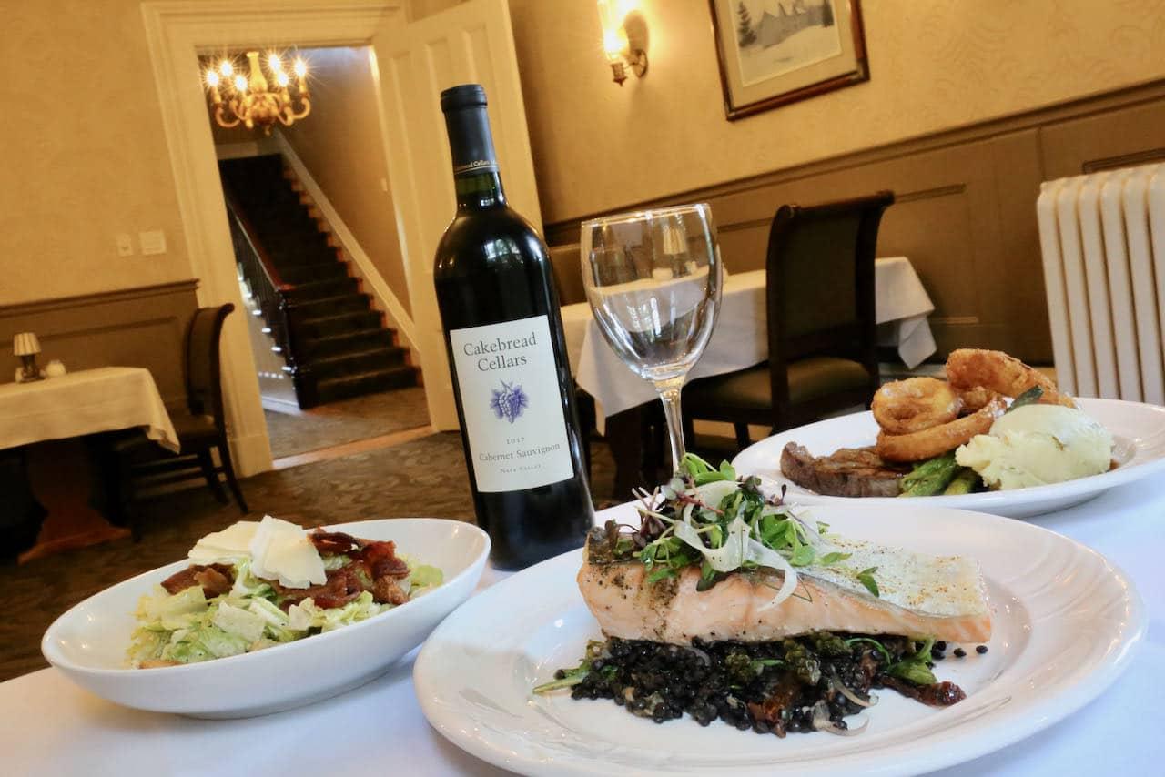 Enjoy a romantic fine dining experience at Elm Hurst Inn.