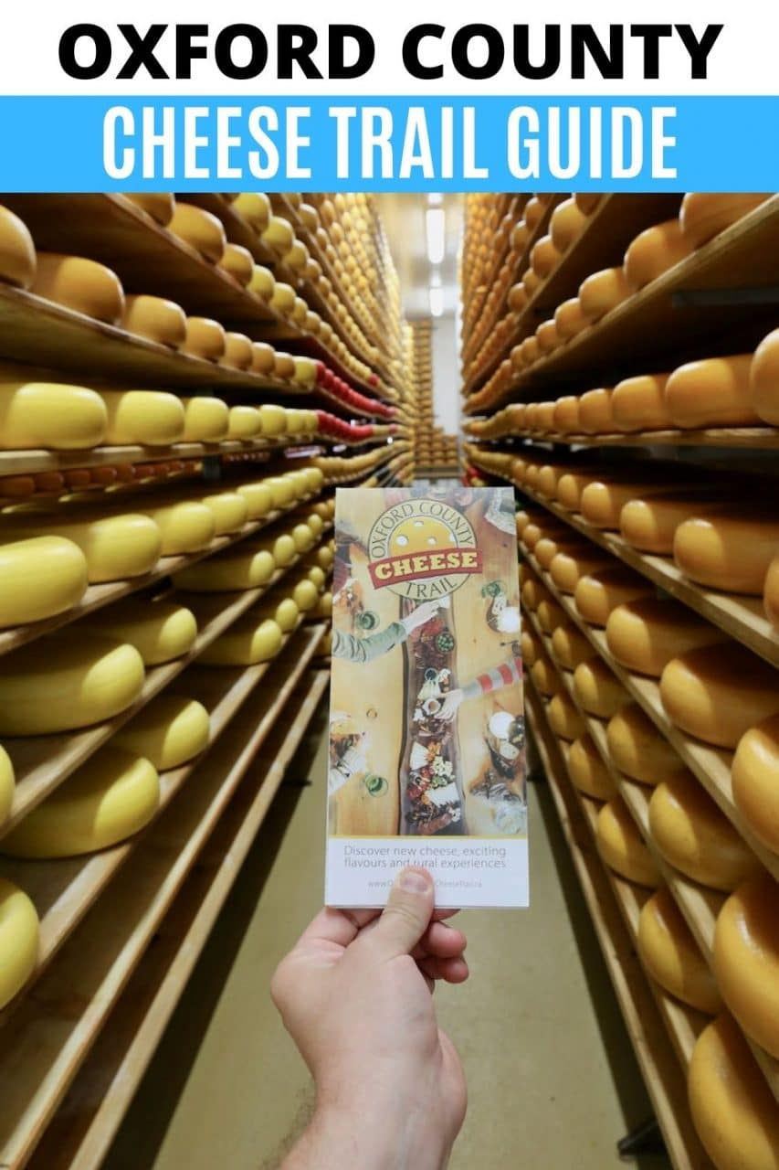 Save our Oxford County Cheese Trail Getaway Guide to Pinterest!