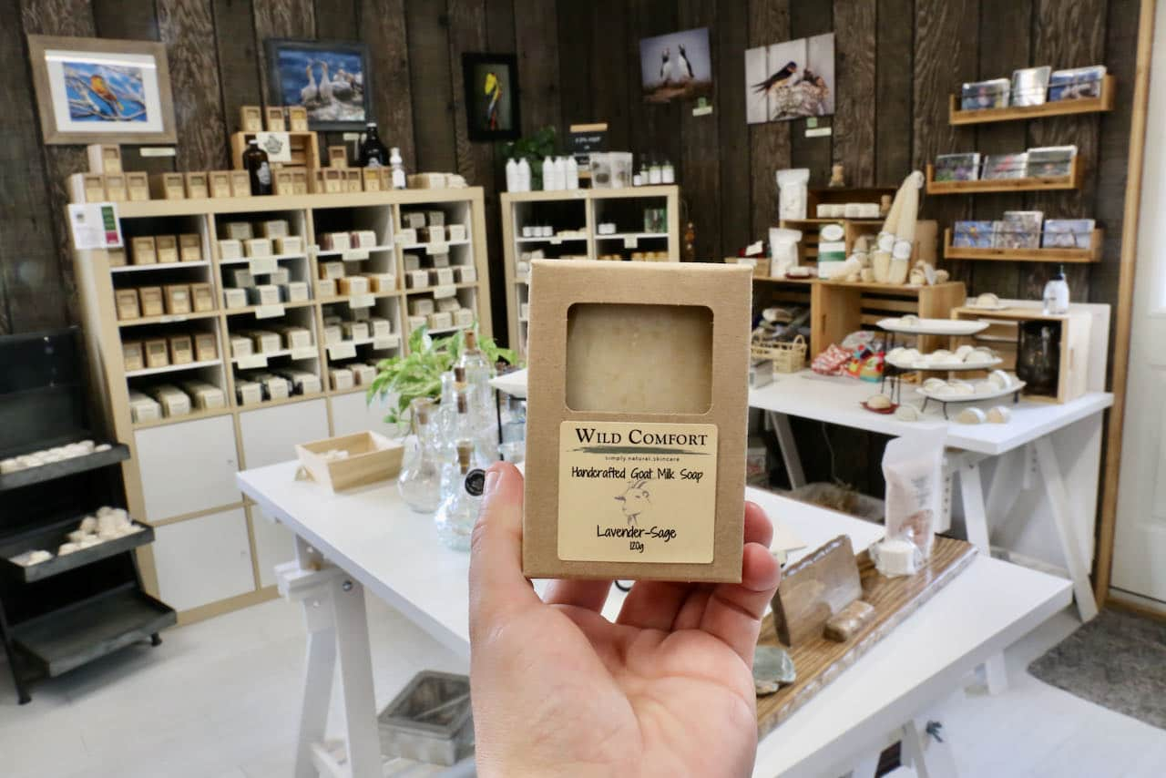 Wild Comfort Body Care is a must-see for soap and fragrance lovers on the Oxford County Cheese Trail.