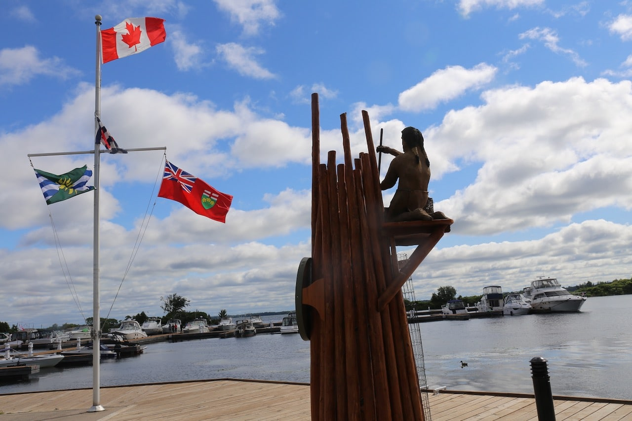 Enjoy a boat cruise or paddle from the Port of Orillia.