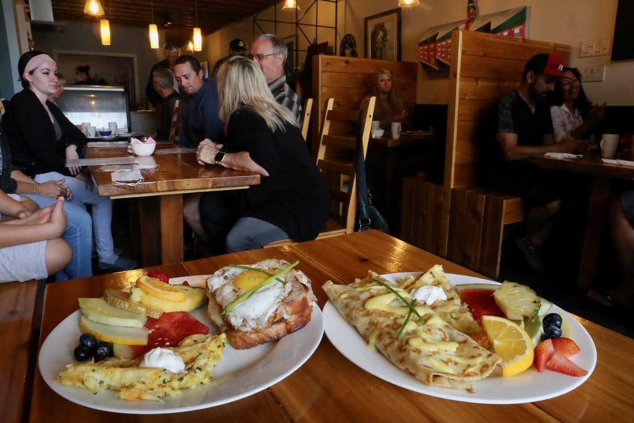 125 Breakfast Club is downtown Orillia's best brunch restaurant.