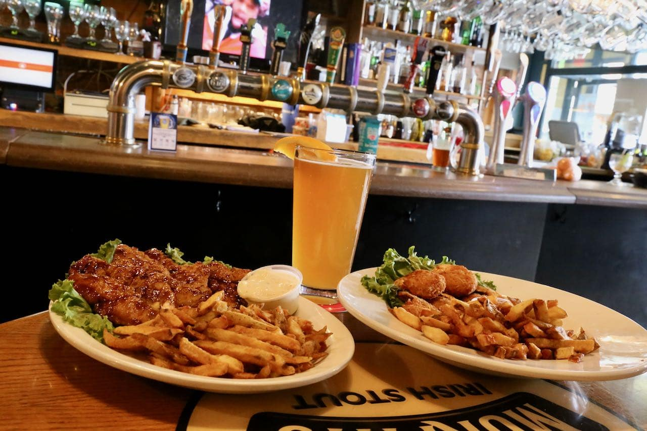 Brewery Bay Food is downtown Orillia's most popular pub and patio.