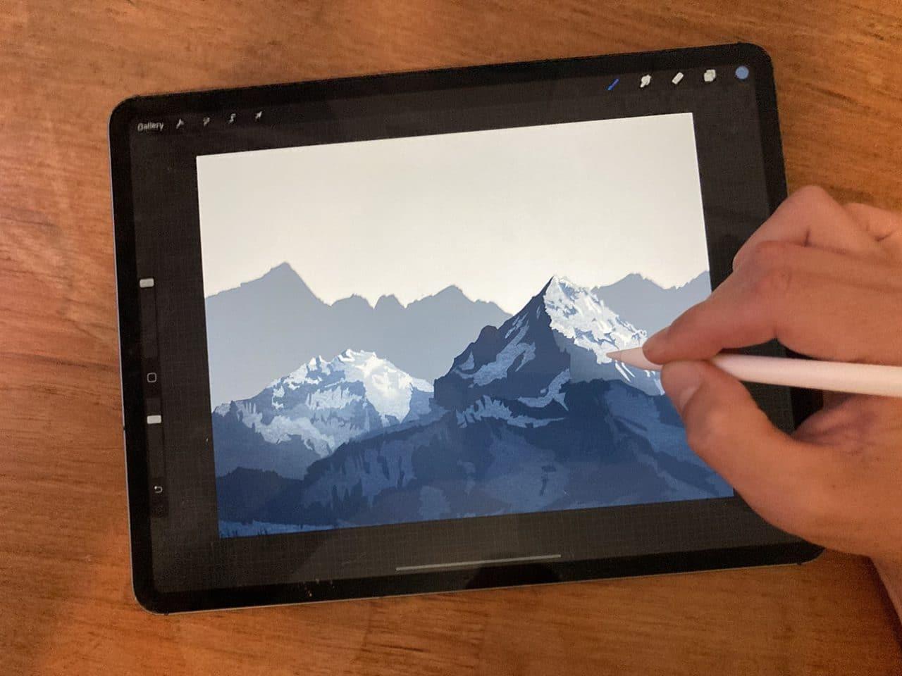 Toronto illustrator Mark Scheibmayr shares tips on how to draw mountains.
