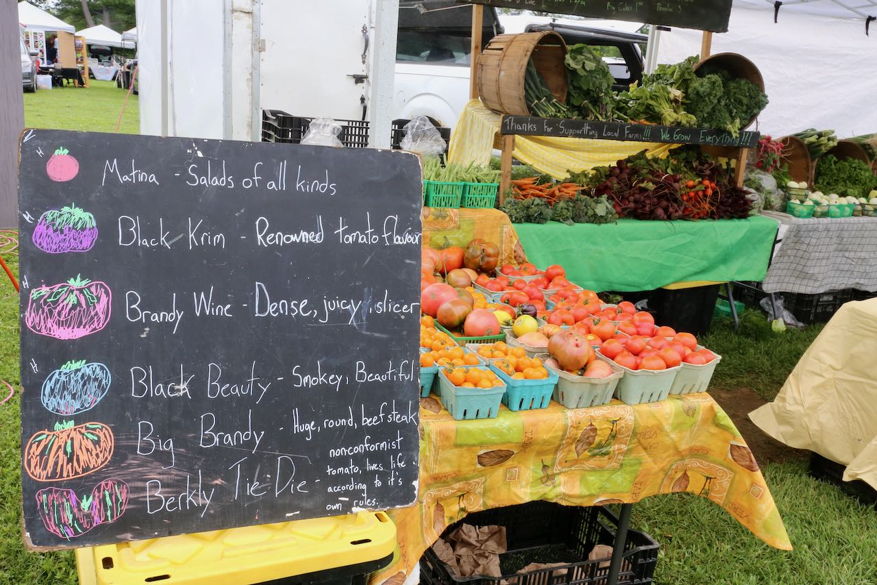Shop from local farmers and artisans at the Orillia Farmers Market.