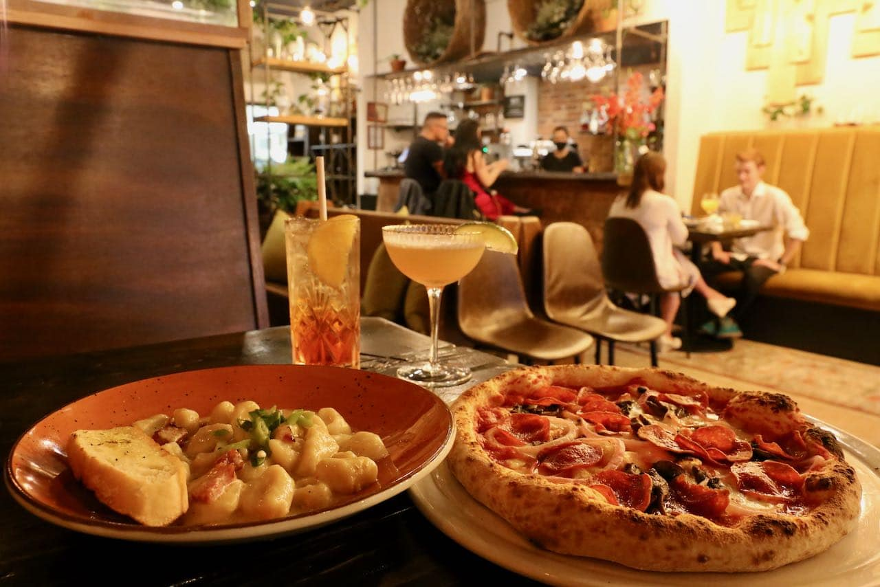 Rustica, one of the best restaurants in Orillia to eat Italian dishes.
