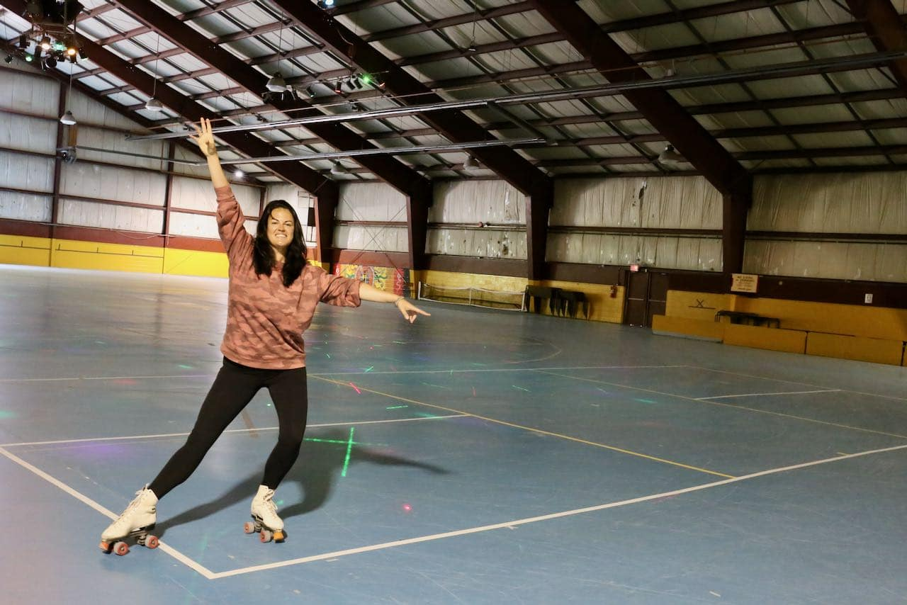 Roller Skating Place is one of our favourite fun things to do in Orillia for kids and families.